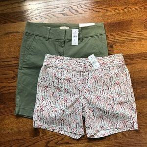 Two NWT LOFT Shorts Bundle